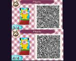 Pikachu cut out pattern #2