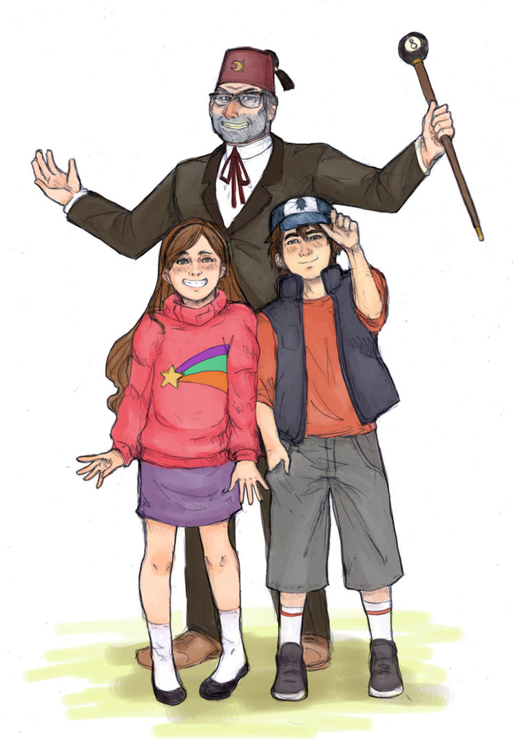 The Mystery (S)hack's Family by reverseinverse