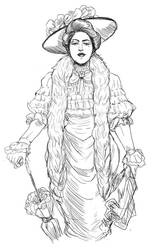 Gibson Girl by reverseinverse