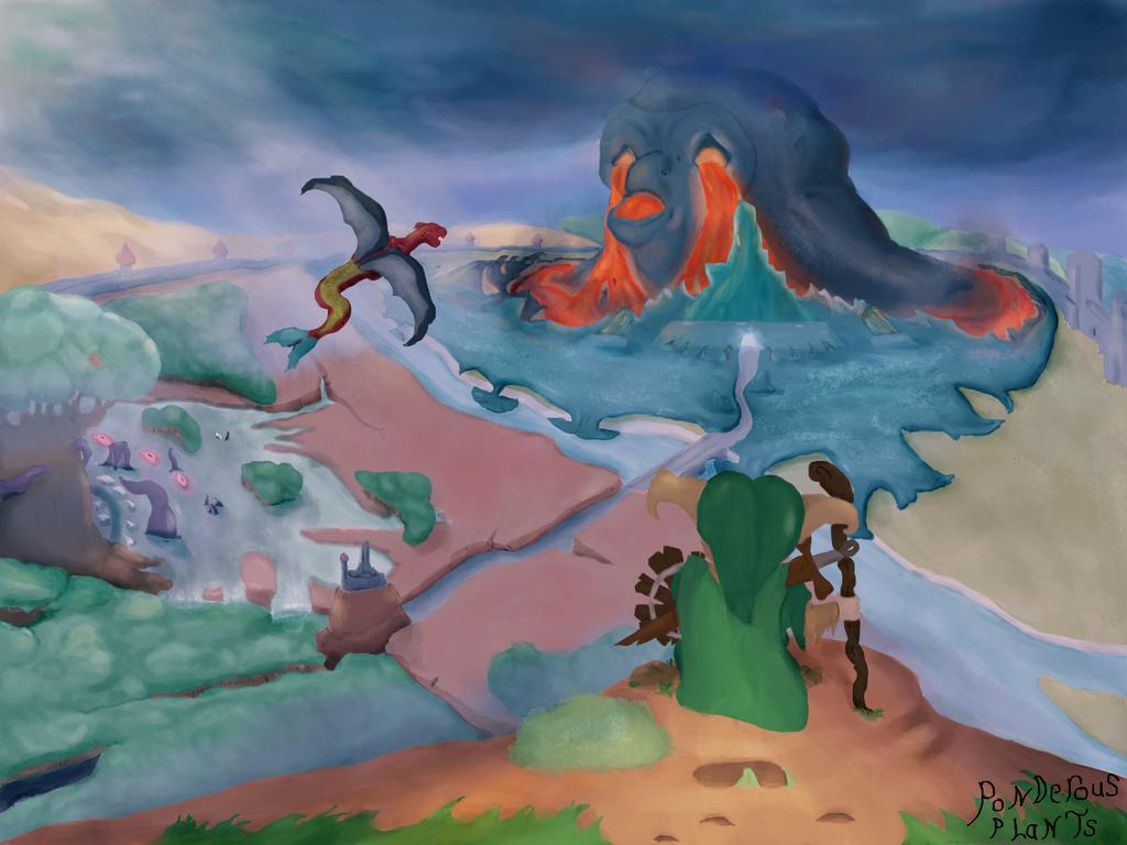 Warped Journey by PonderousPlants