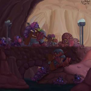 Cavern Assault by PonderousPlants