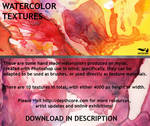10 High-Resolution Watercolors
