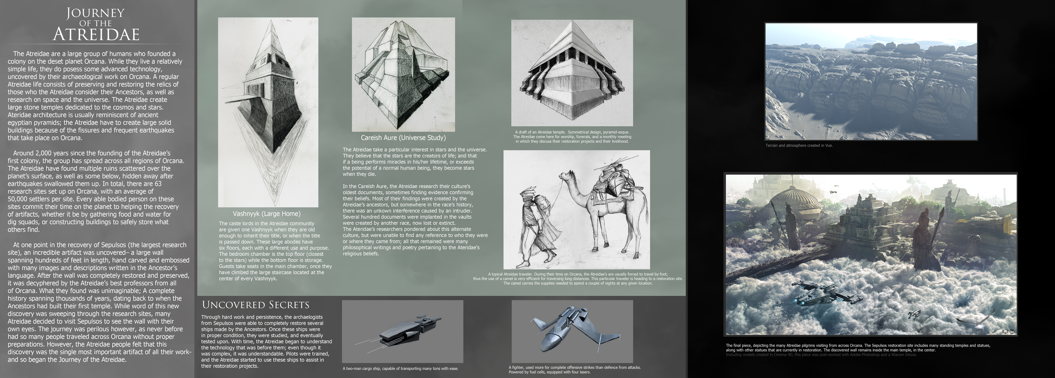 Journey of the atreidae concept sheet by fmacmanus on for Architectural design concept sheet
