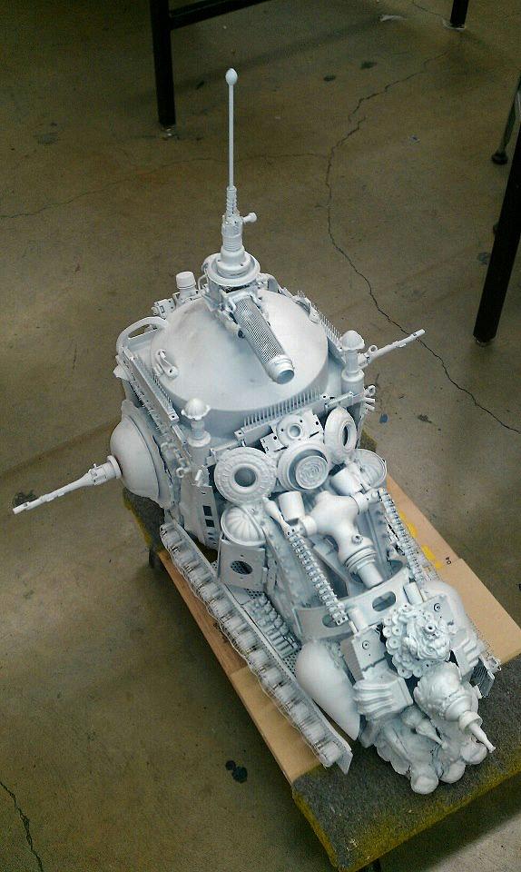 Study Models Tank by fmacmanus