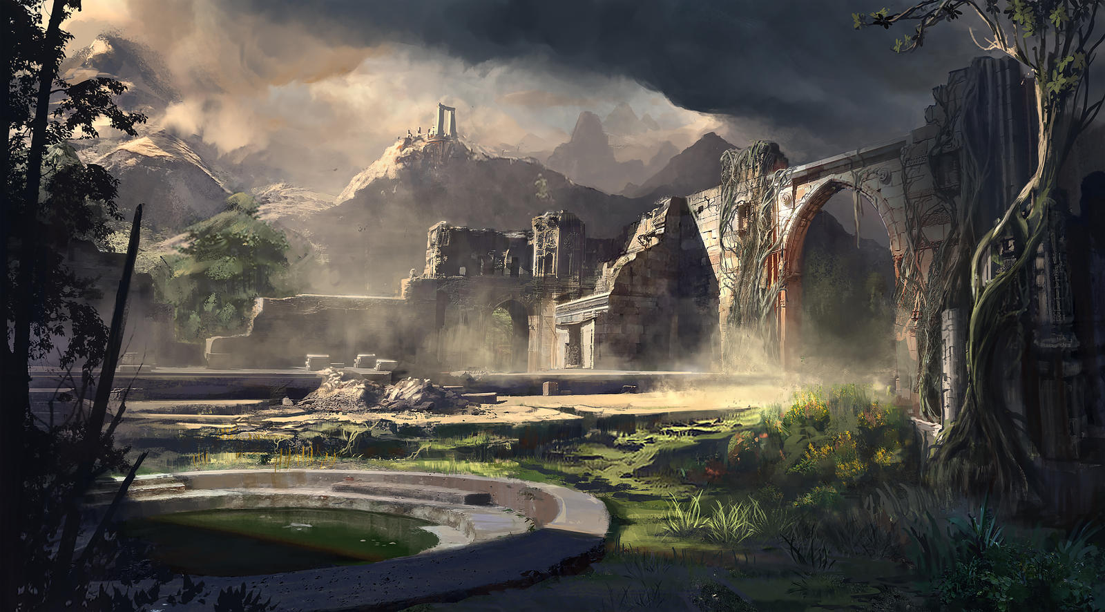 Acrospar Ruins by fmacmanus
