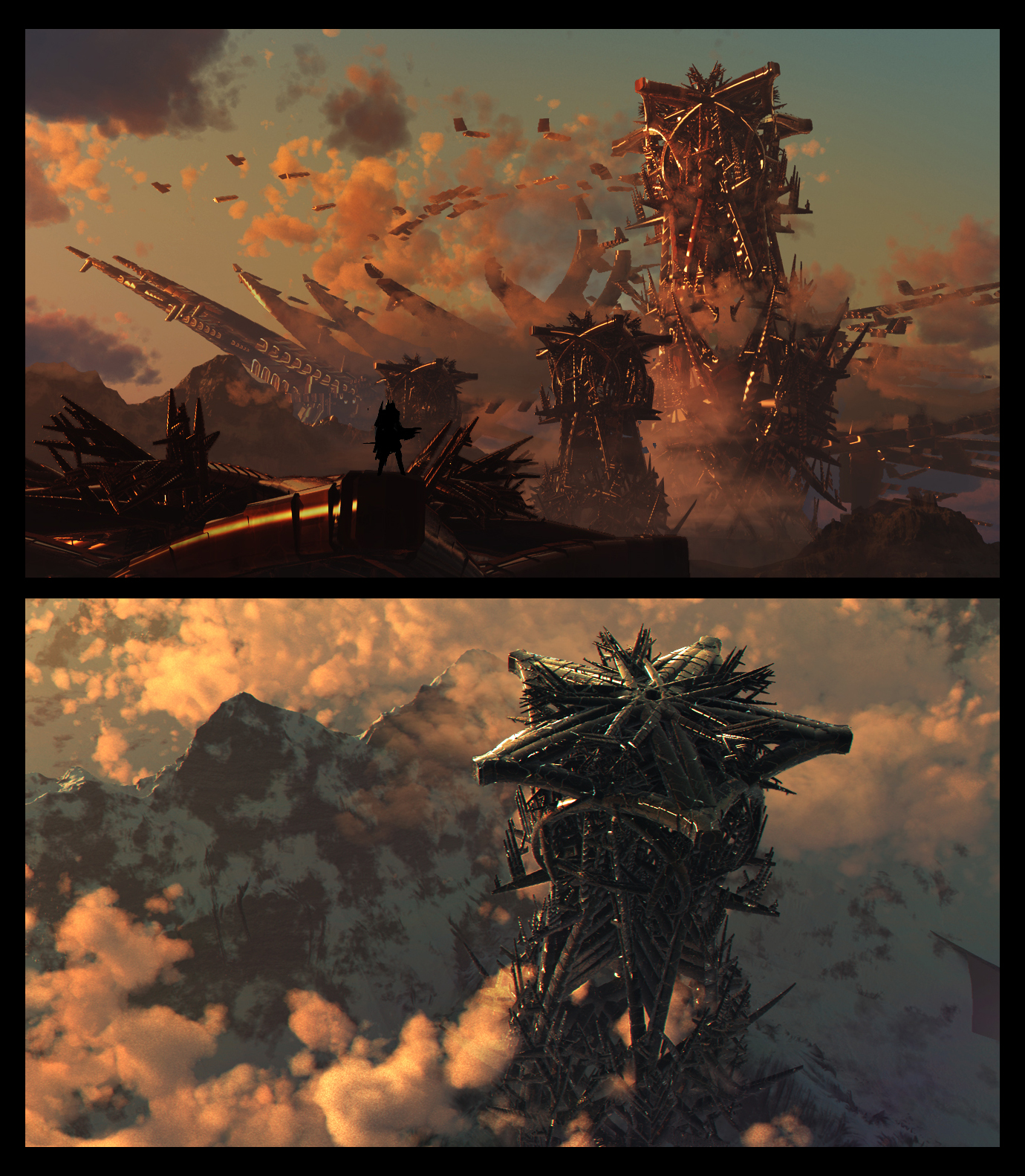 Red Tower Ruins by fmacmanus