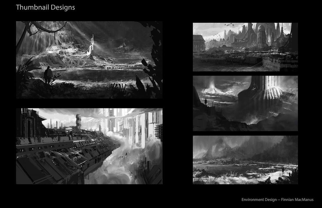 Wandering Environments II by fmacmanus
