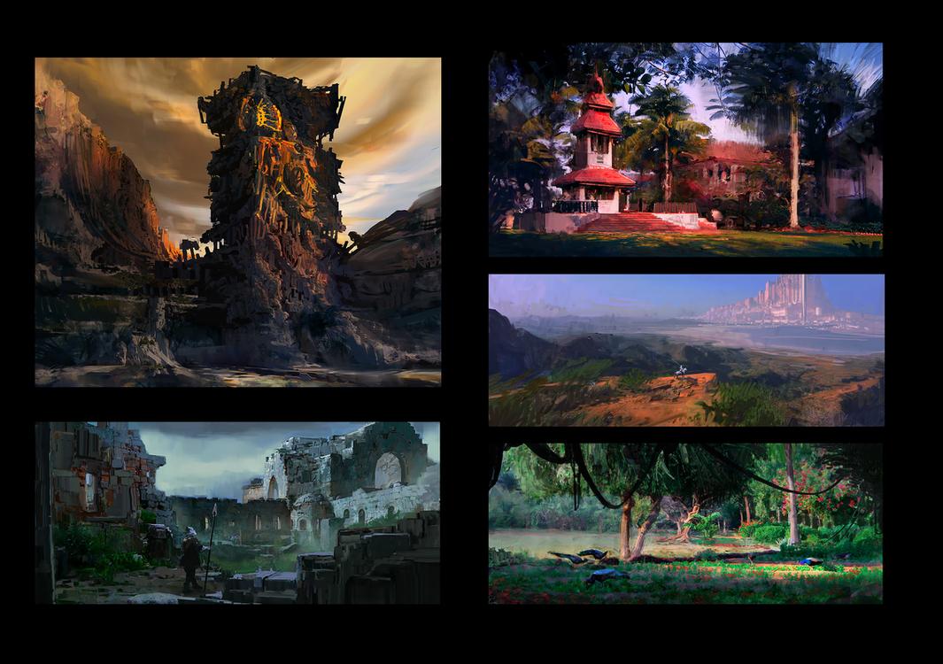 Wandering Environments III by fmacmanus