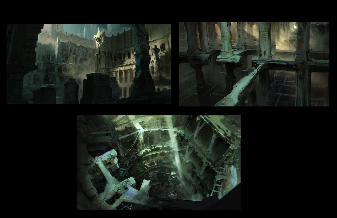 Bone Temple Phase II by fmacmanus