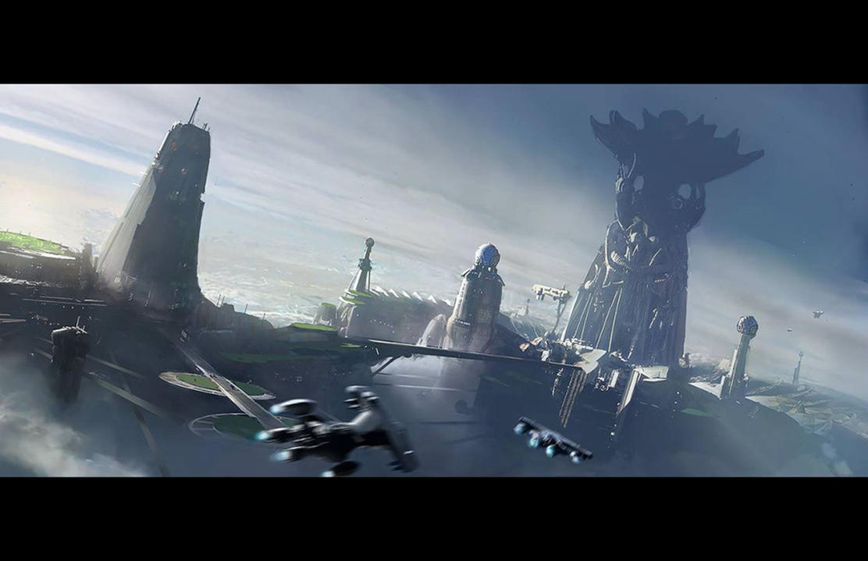 Ark Tower Take 1 by fmacmanus