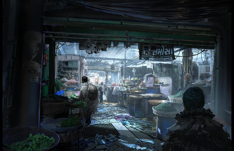 Underground Marketplace by fmacmanus