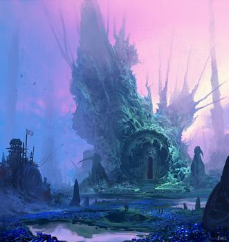 Gates to Sikri by fmacmanus