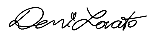 Demi Lovato's logo by shokobom94