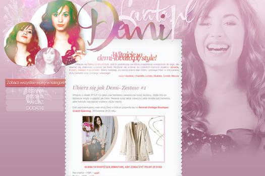 Demi in seventeen magazine 02