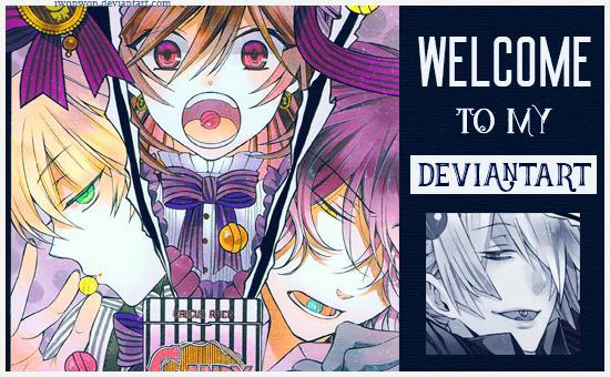 Welcome to my DeviantART!!! #4