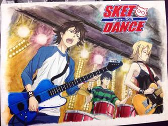 School Art Sket Dance thing by aries0ram
