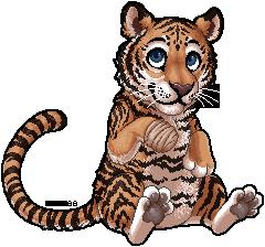 the cuddliest tiger