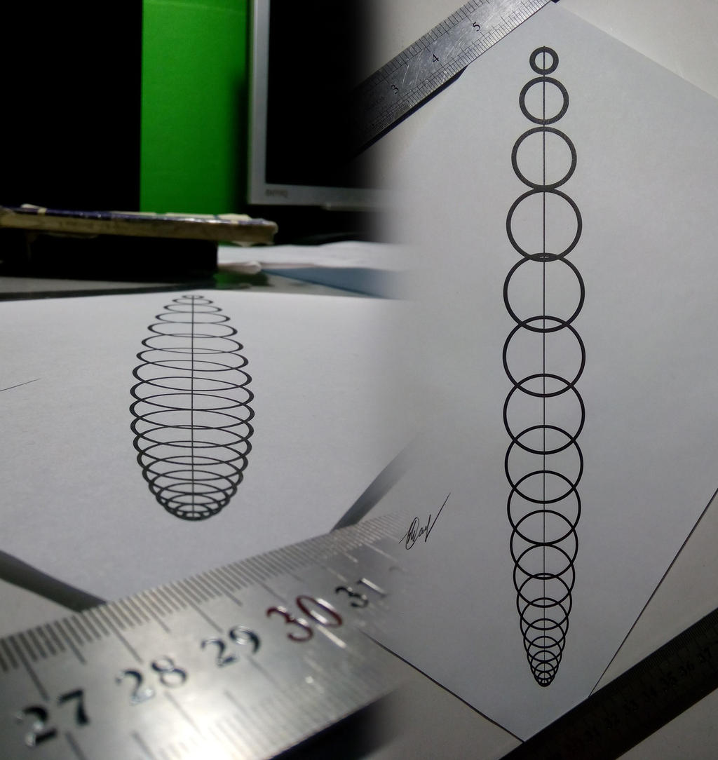 3D рисунок эллипсоида