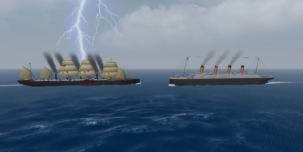 Titanic vs Great Eastern by 121199