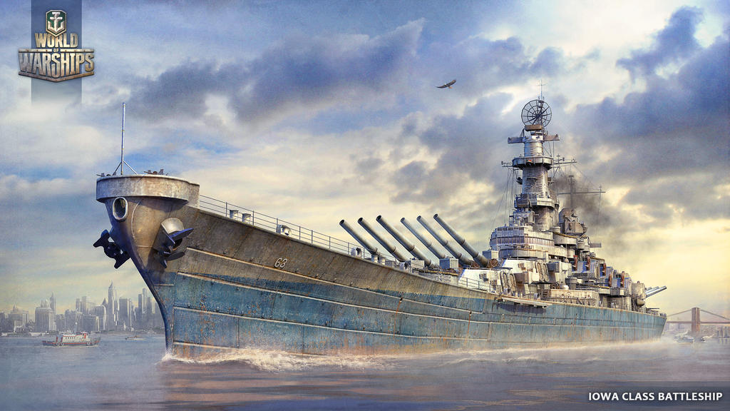 World of Warships USS Missouri by 121199