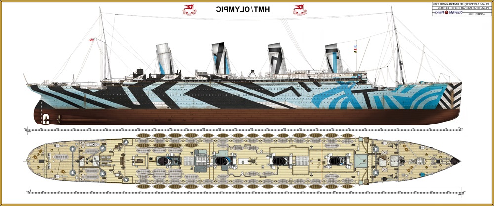 VS7 Skin For My Titanic HMT Olympic By 121199 On DeviantArt