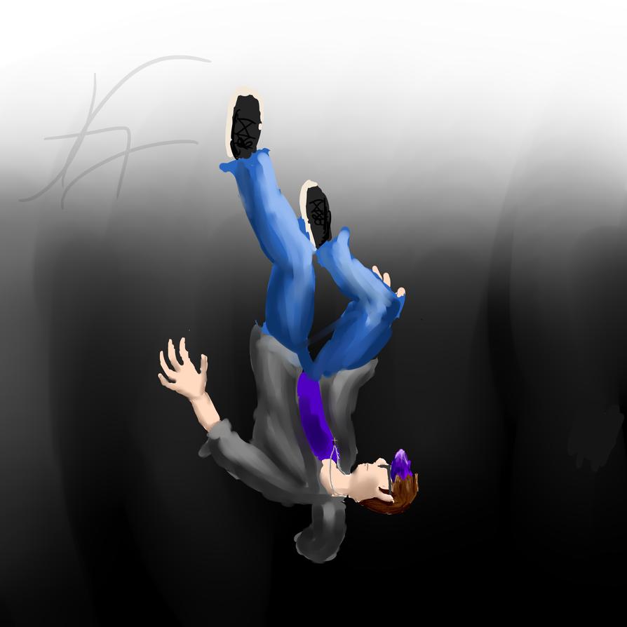 Falling by Kanash-i