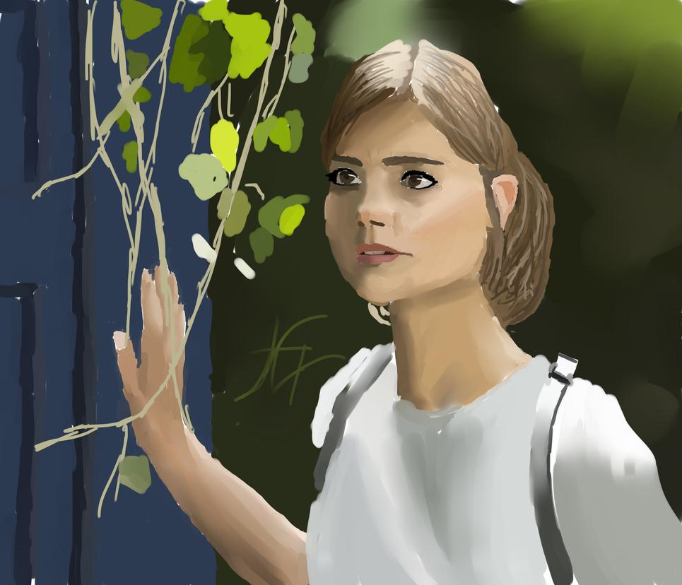 Clara Oswald by Kanash-i