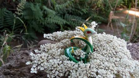 Serperior on Daucus carota by MinccinoCapuccino
