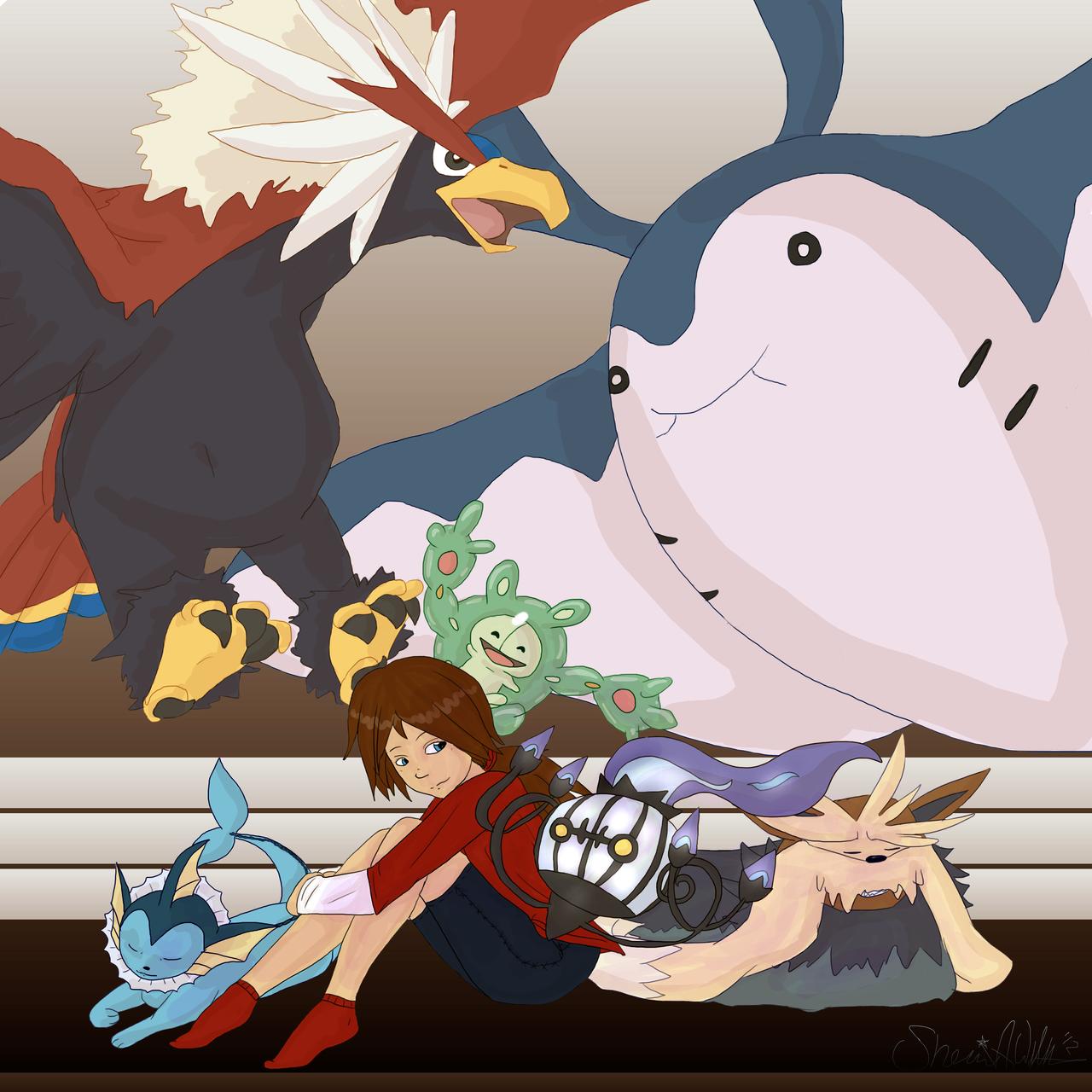 Forever Pokemon by ISherri-sanI