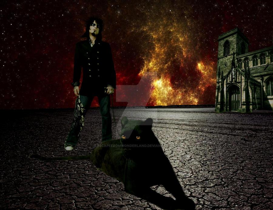 Nikki Sixx Desert by EscapeFromWonderland