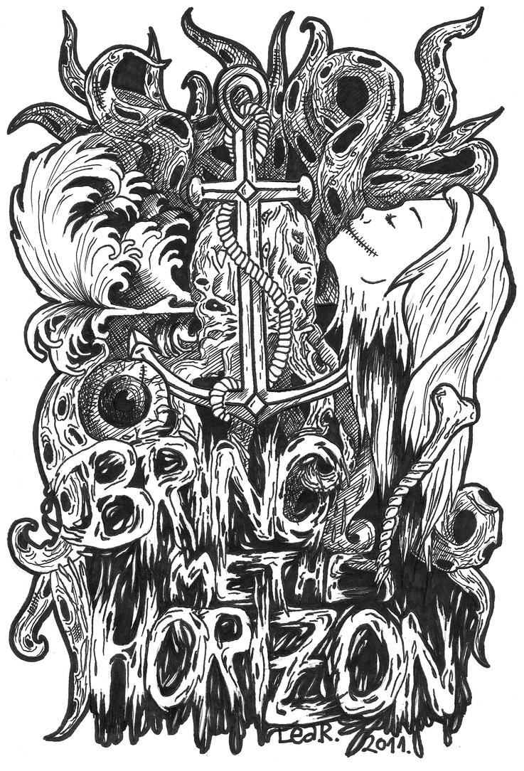 Bring me the horizon  by leatmBring Me The Horizon Artwork
