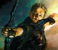 Hawkeye by chanso