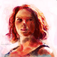 Avengers - Black Widow by chanso