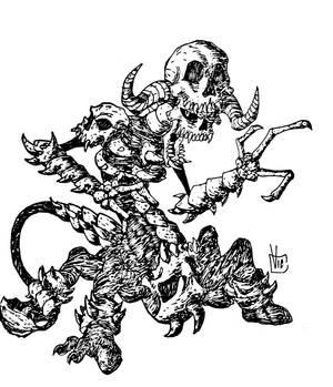 Skull over Skull