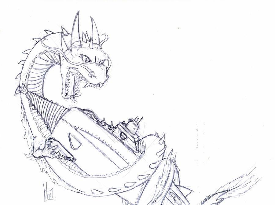 Manda vs Gotengo -sketch