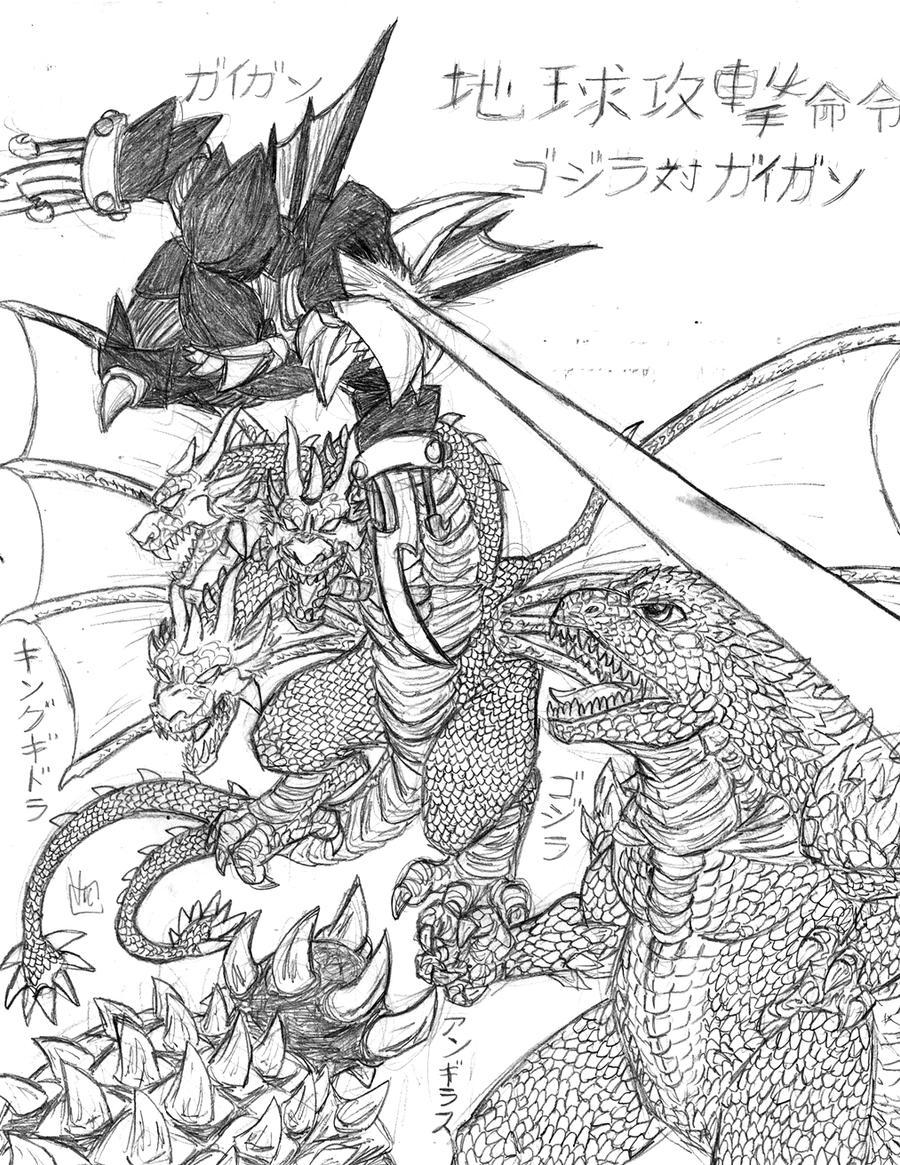 Moderno Godzilla Para Imprimir Para Colorear Cresta - Dibujos Para ...
