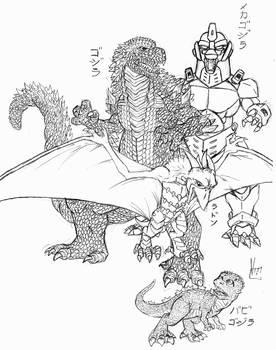 Godzilla vs MechaG II 2.0