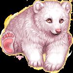 Polar bear by kittenfoodcritic