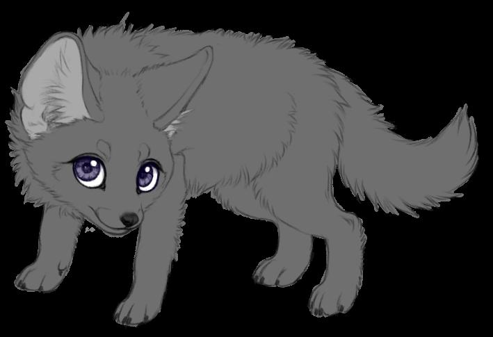 Fox Kit (P2U lineart)