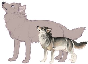 Wolf (P2U) by kitfaced
