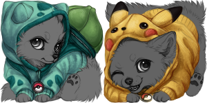 Pokemon Hoodies (USD YCHs)