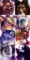 Painted Headshot Commissions (OPEN)