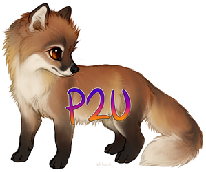 Fox Kit (P2U) by kitfaced