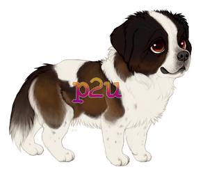 Chub Saint Bernard (p2u) by kitfaced