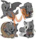 Halloween Chibis (Paypal YCHs)