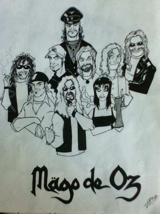 Mago De Oz by itsamariotime on DeviantArt