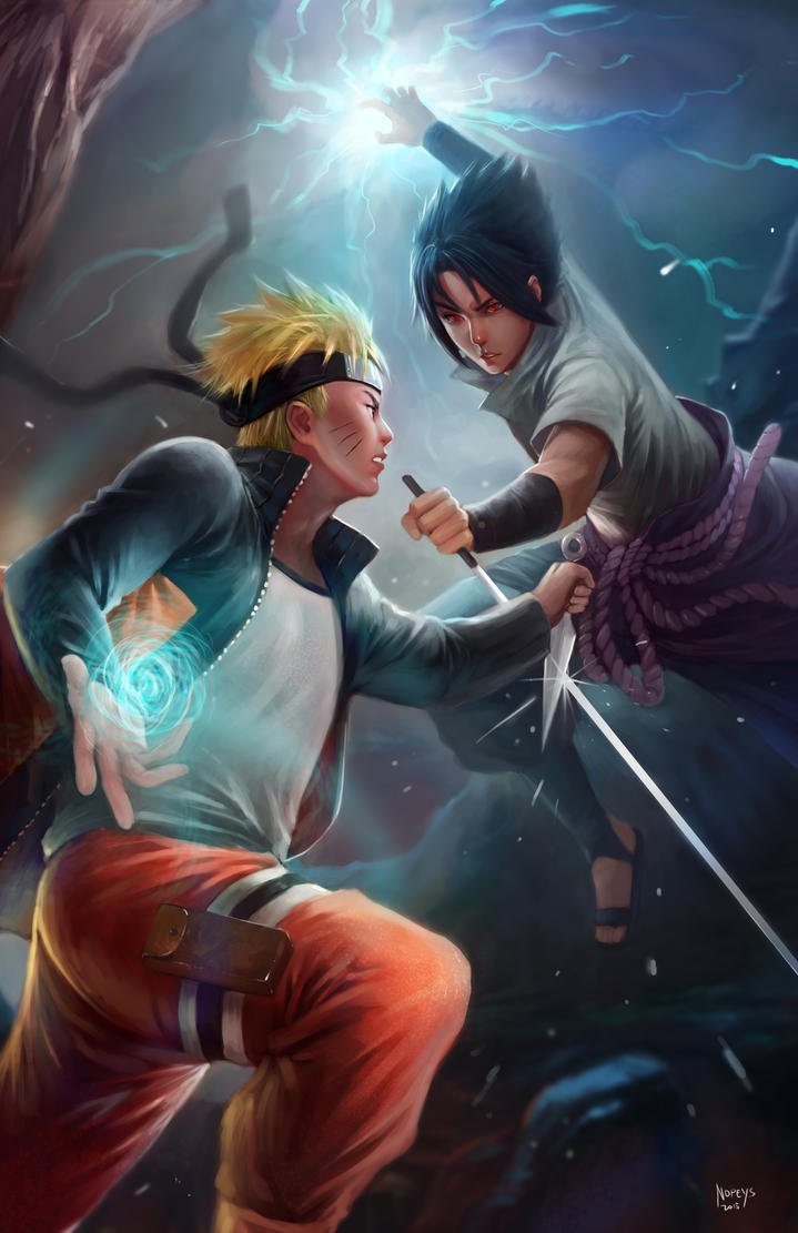 naruto vs sasuke by nopeys on deviantart