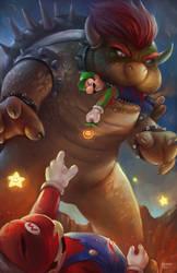 Super Mario by NOPEYS
