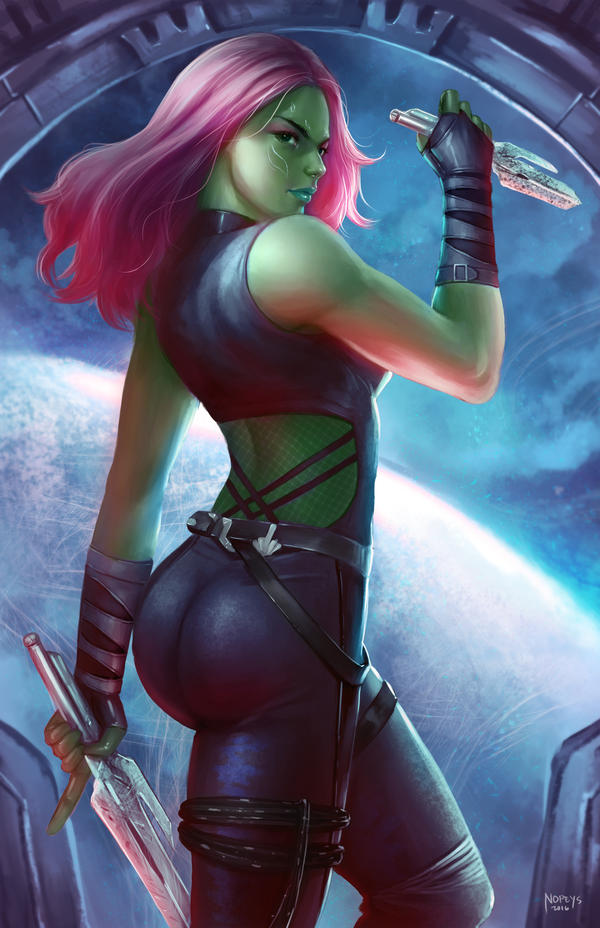 Gamora by NOPEYS