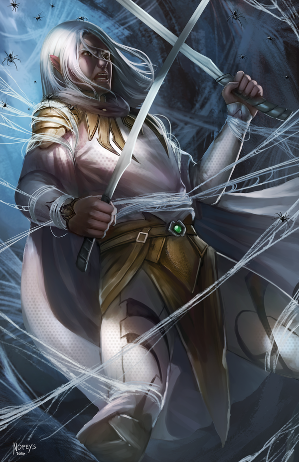 Drizzt by NOPEYS